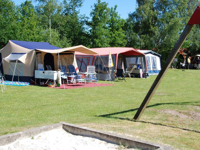 Kampeerplaats in Nederland
